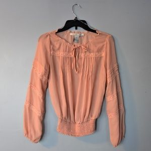 Peach/Blush Loose Top